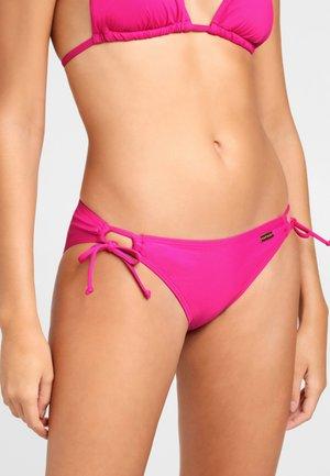 MIT SEITLICHEN BINDEBÄNDERN - Bikini bottoms - pink