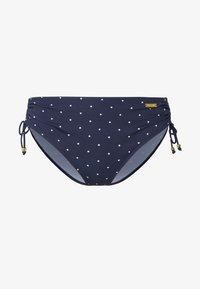LASCANA - ADJUST SPARKLE - Bikini bottoms - navy - 3