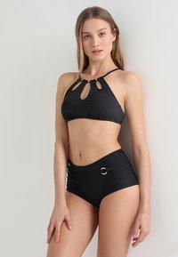 LASCANA - BUSTIER - Bikini top - black - 1