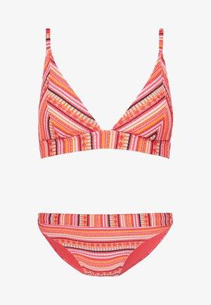 TRIANGLE BIKINI - Top de bikini - orange