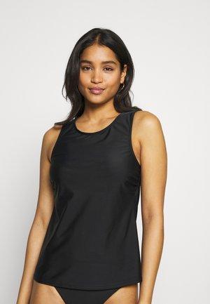 SWIM SHIRT MATCH - Bikini top - black