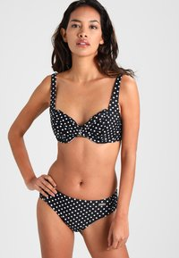 LASCANA - WIRE LAS RUBEL SET - Bikinier - black/white - 1