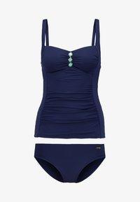 LASCANA - TANKINI SET - Bikini - navy - 4