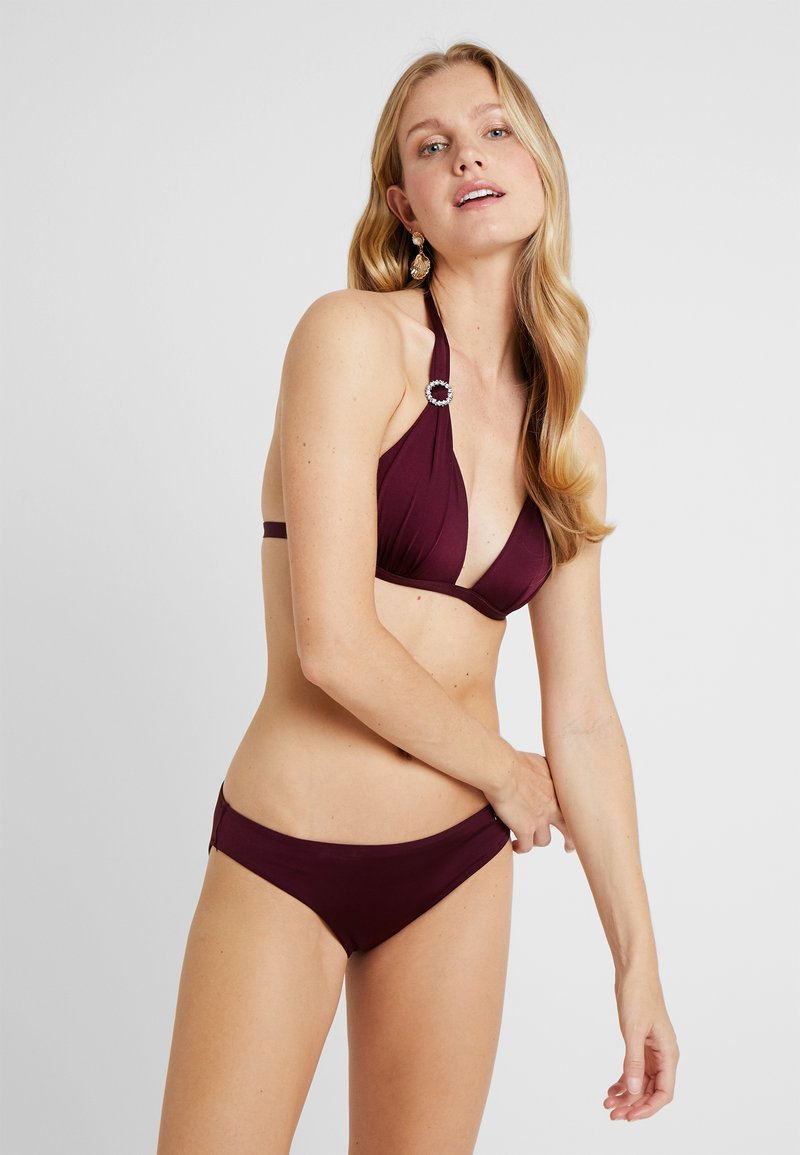LASCANA - TRIANGEL SET - Bikini - bordeaux