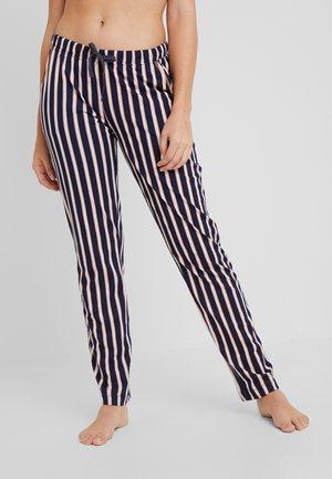 FASHIONABLE NIGHTSPANTS - Pyžamový spodní díl - darkblue/light grey