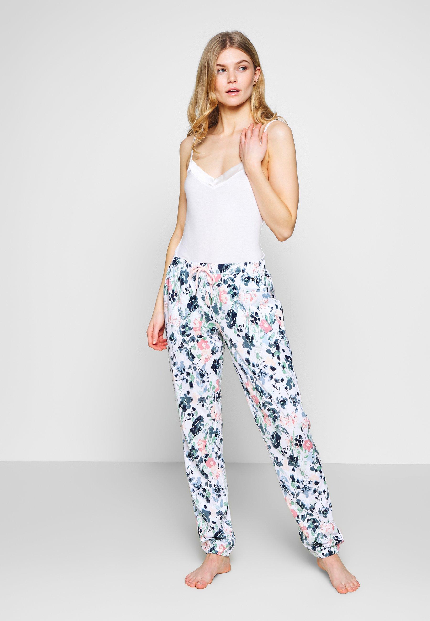 LASCANA PANTS - Pantaloni del pigiama - white t9pXRXFc