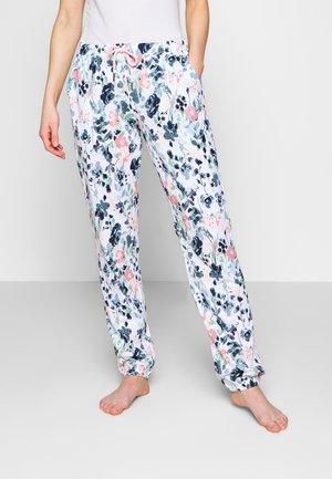 PANTS - Pyjamasbukse - white