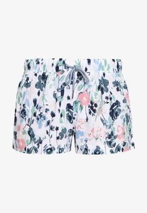 SHORTS - Pantalón de pijama - white/multi coloured