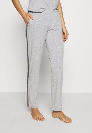 PANTS SHINY - Pyjamahousut/-shortsit - grey mélange
