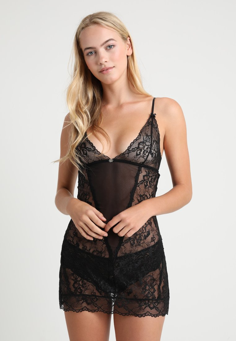 JETTE - Nightie - black