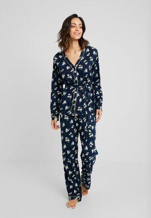 CLASSY DREAMS SET - Pyjamas - dark blue