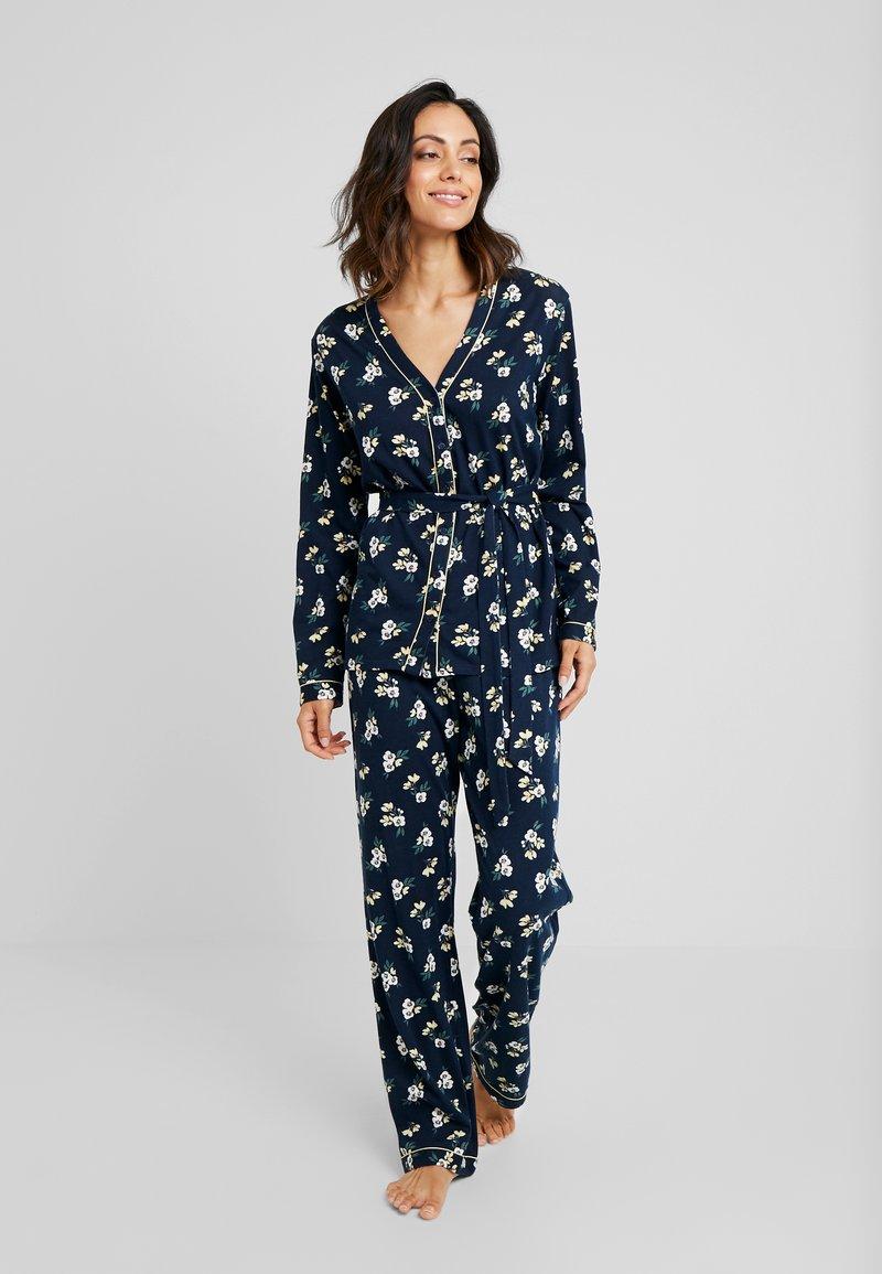 LASCANA - CLASSY DREAMS SET - Pyjamaser - dark blue