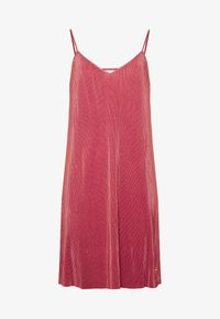 LASCANA - PLISSEE NEGLIGÉ - Nightie - dark mauve - 5