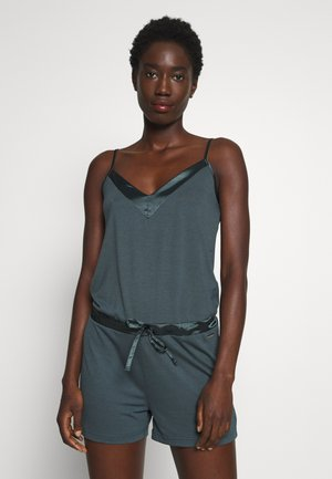 PLAYSUIT SHINY - Pyjama - slate