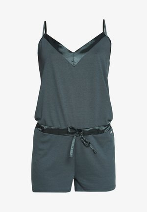 PLAYSUIT SHINY - Pyjama - slate