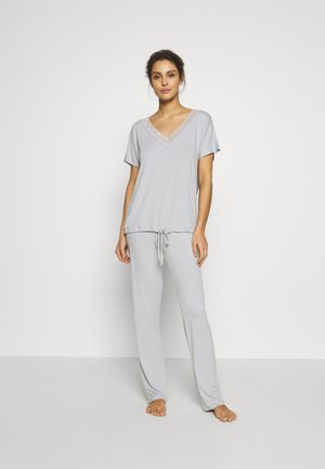 LAS BASIC SET - Pyjama - silver grey