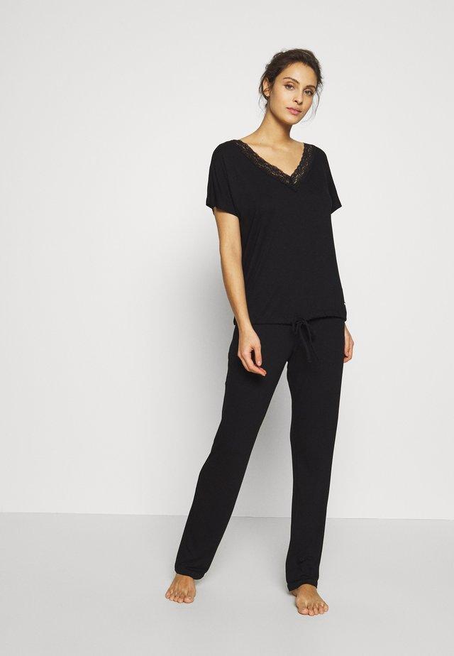 LAS BASIC SET - Pyžamová sada - black