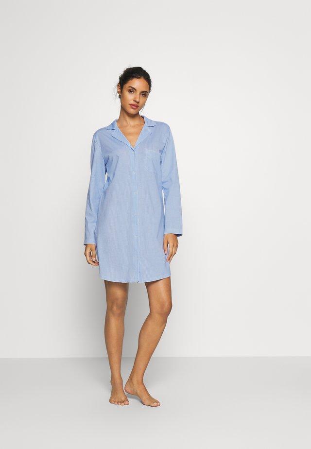CLASSIC NIGHTDRESS - Nattlinne - blau