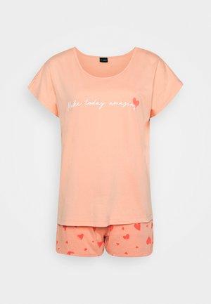 SHORTY LOVELY - Pyjama set - soft coral