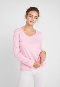 LASCANA - LONGSLEEVE - Pyžamový top - pink - 0