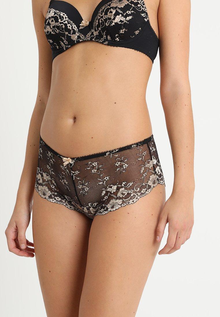 LASCANA - PANTY - Panties - black/gold