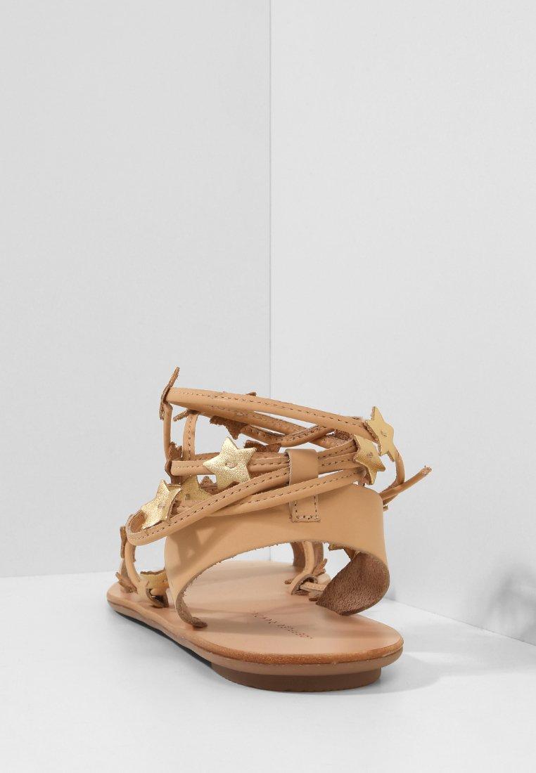 Loeffler Randall STARLA - Sandały - wheat/gold