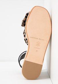 Loeffler Randall - POSEY - Sandály na platformě - gold - 6