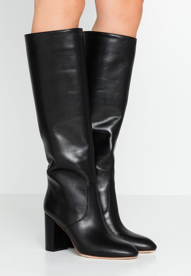 GOLDY TALL BOOT - Boots med høye hæler - black