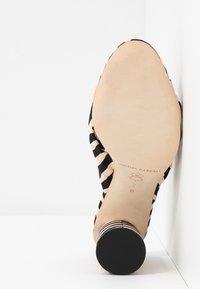 Loeffler Randall - COCO HIGH HEEL KNOT SLIDE - Heeled mules - beige - 6