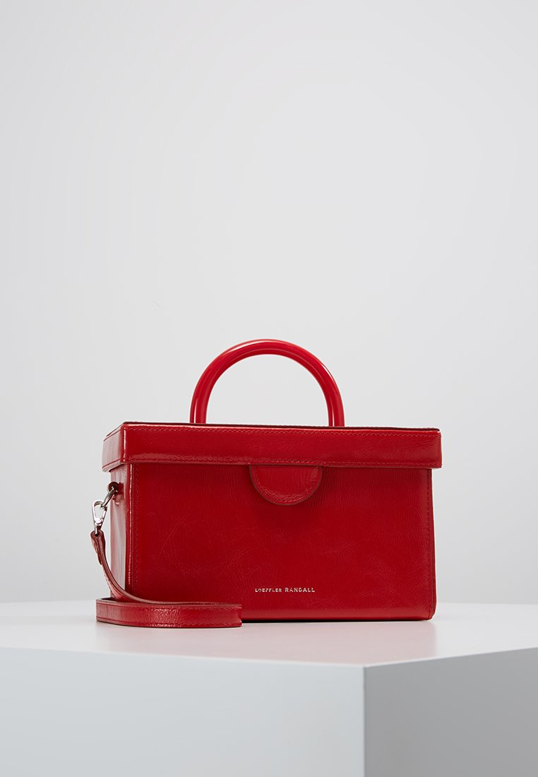 Loeffler Randall - BELLA BOX BAG - Handtasche - bright red