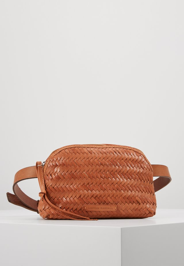 BELT BAG - Ledvinka - timber brown