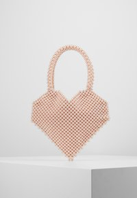 Loeffler Randall - MARIA BEADED HEART TOTE - Kabelka - blush - 2