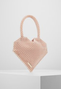 Loeffler Randall - MARIA BEADED HEART TOTE - Kabelka - blush - 0