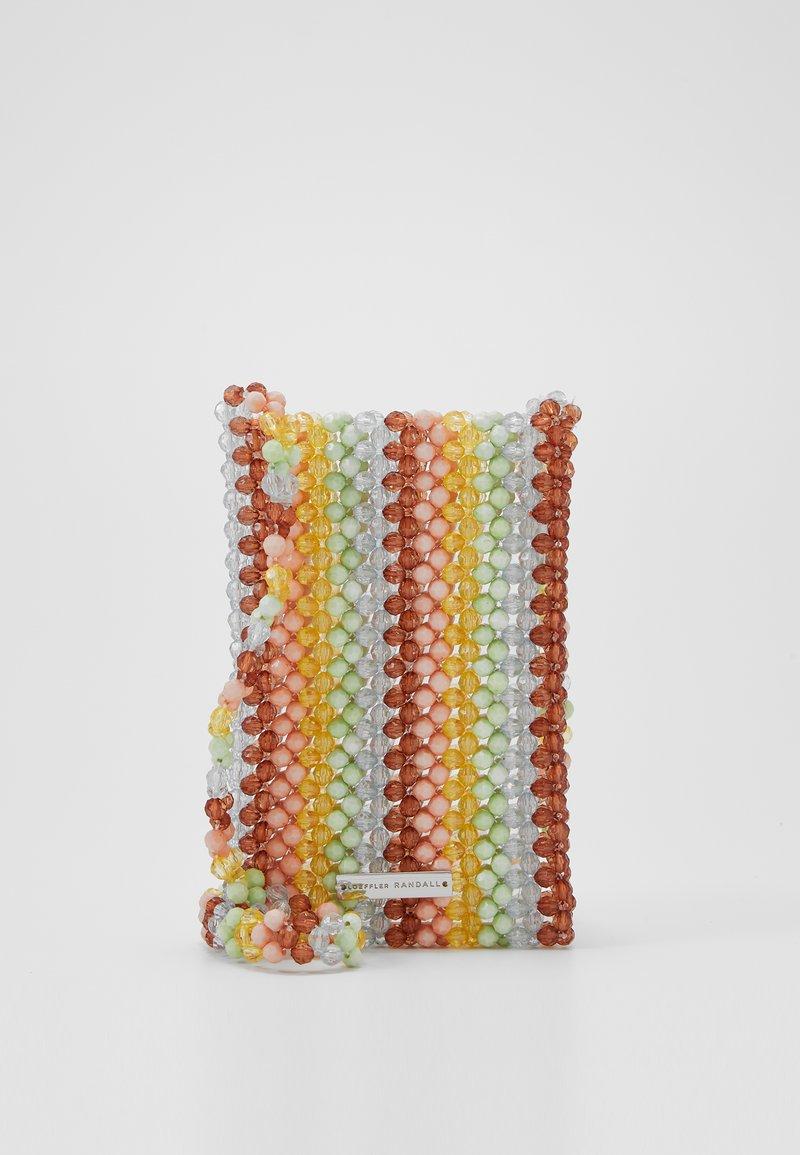 Loeffler Randall - GEORGINA BEADED PHONE CROSSBODY - Sac bandoulière - multi-coloured