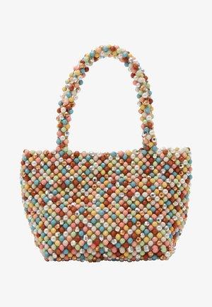 MINA BEADED MINI TOTE - Handbag - multi-coloured
