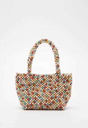 MINA BEADED MINI TOTE - Handtas - multi-coloured