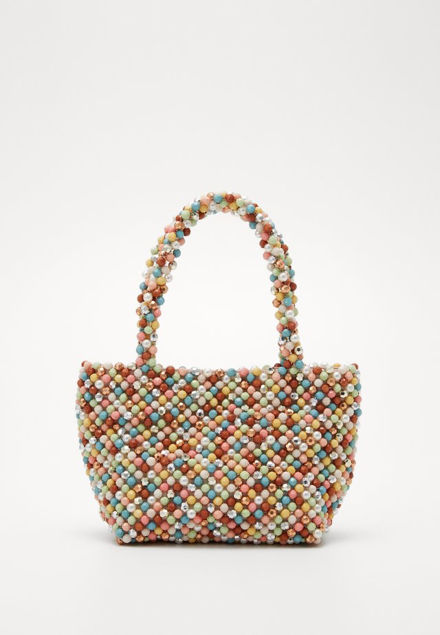 MINA BEADED MINI TOTE - Handtasche - multi-coloured