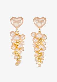 Loeffler Randall - TALLULAH HEART - Náušnice - pink pearl - 4