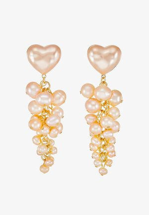 TALLULAH HEART - Kolczyki - pink pearl
