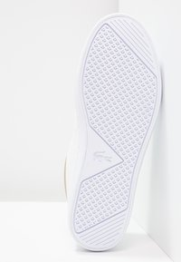 Lacoste - STRAIGHTSET CAW  - Sneakersy niskie - white/gold - 5