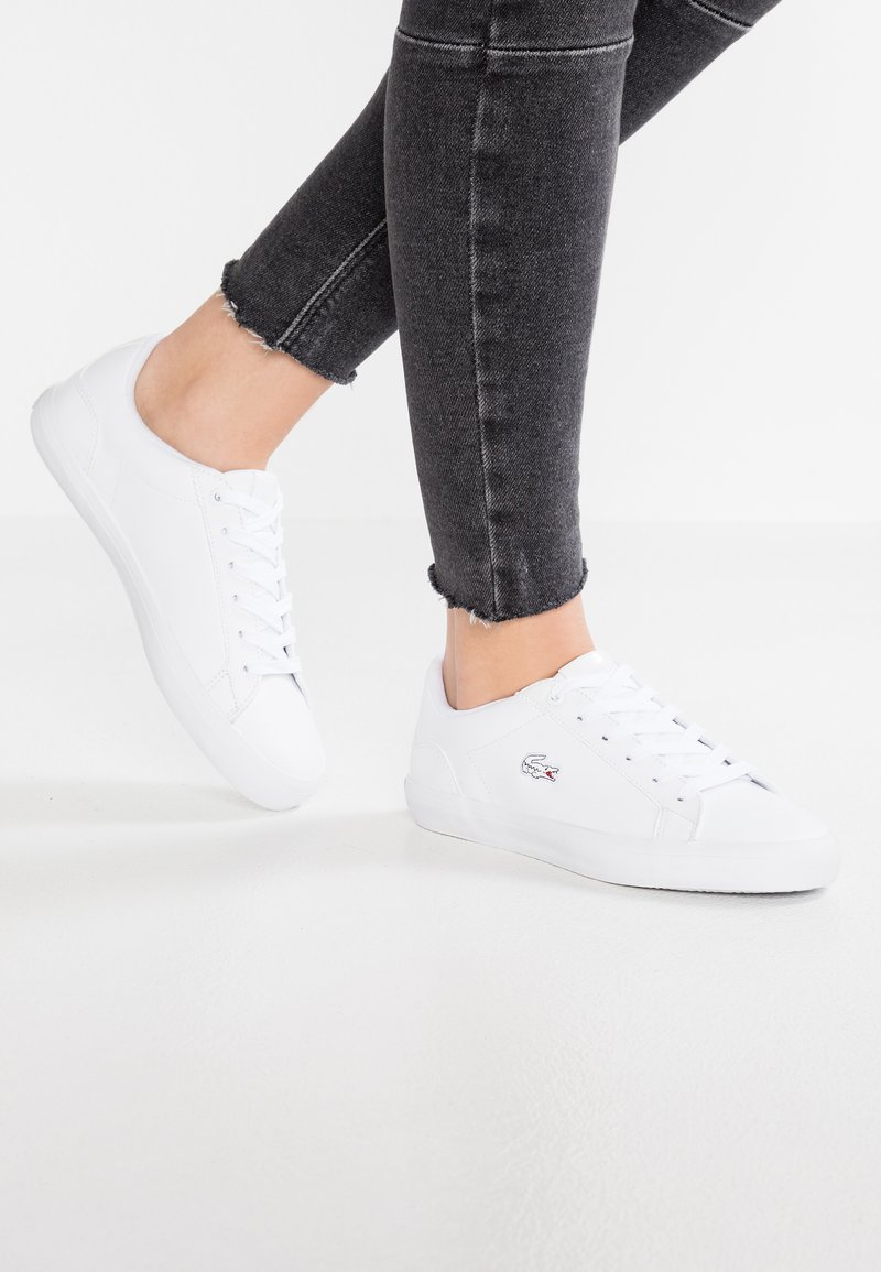Lacoste - LEROND CAW - Sneakers laag - white
