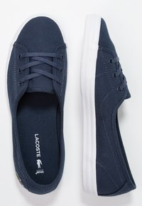 Lacoste - ZIANE CHUNKY - Sneakersy niskie - navy - 3