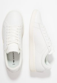 Lacoste - CARNABY EVO  - Sneakers laag - white - 3