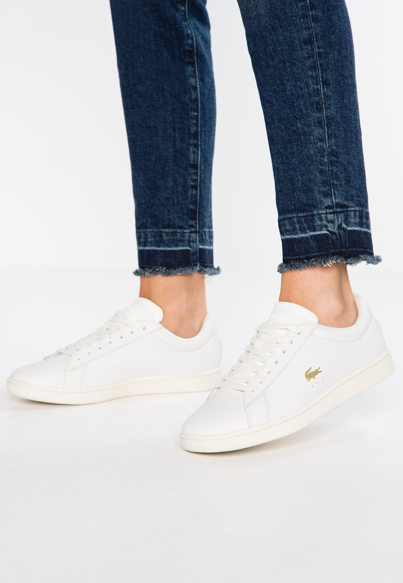 Lacoste - CARNABY EVO  - Sneakers laag - white