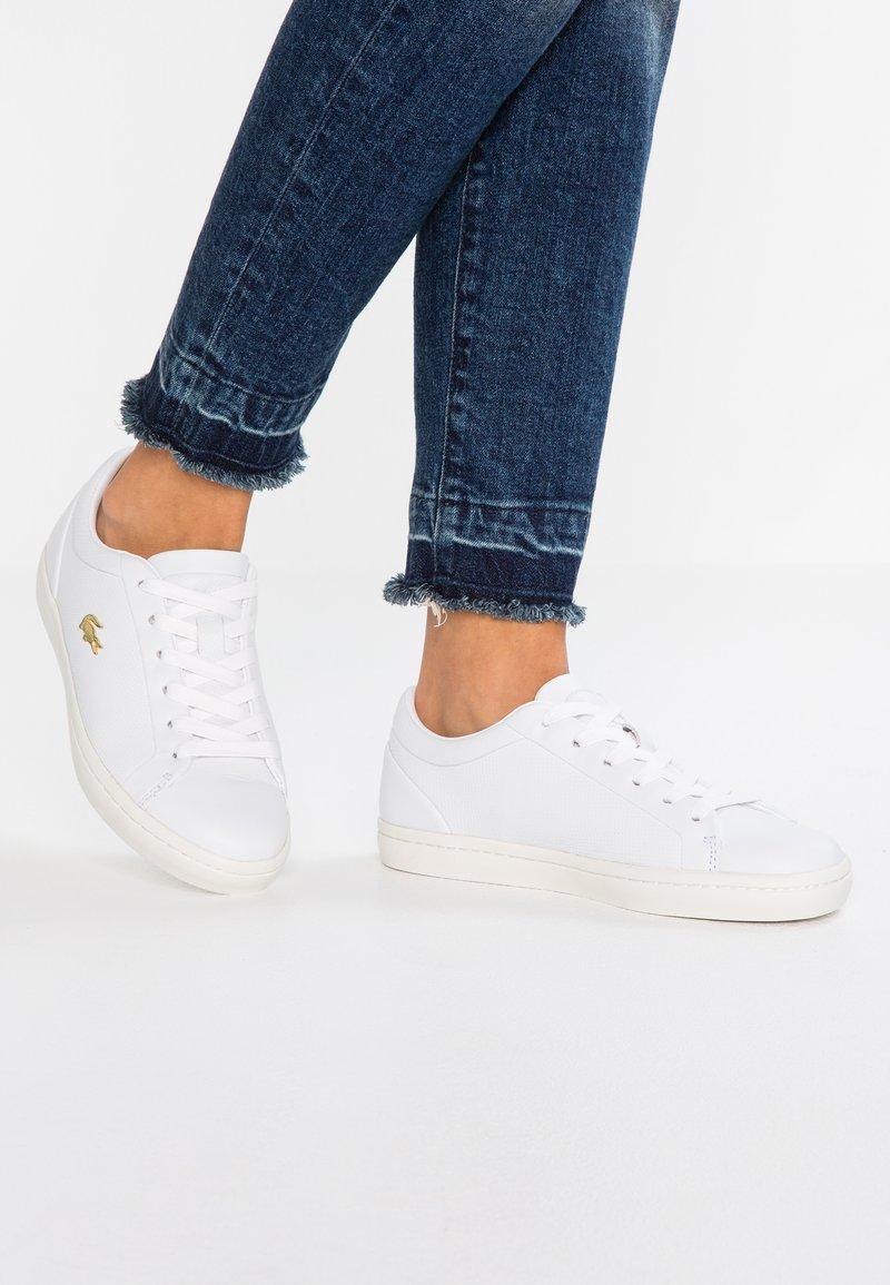 Lacoste - STRAIGHTSET  - Sneaker low - white