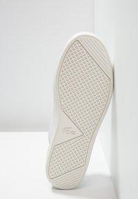 Lacoste - STRAIGHTSET  - Matalavartiset tennarit - white - 6