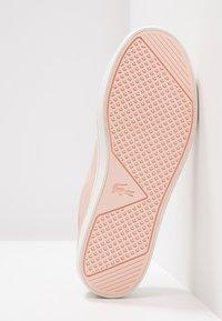 Lacoste - STRAIGHTSET  - Zapatillas - rose - 6