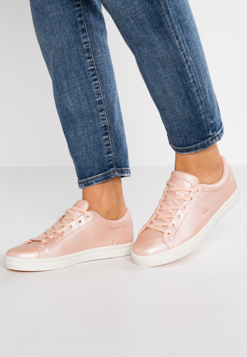 Lacoste - STRAIGHTSET  - Trainers - rose
