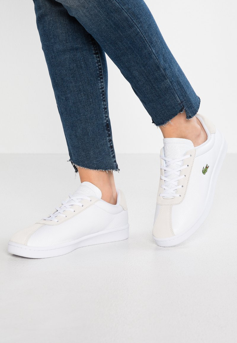 Lacoste - MASTERS - Sneaker low - white
