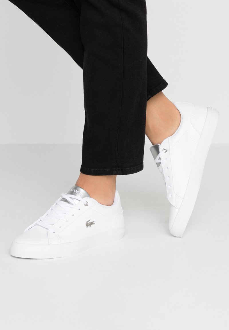 Lacoste - LEROND  - Trainers - white/silver